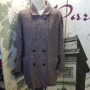 Vintage 60's Wool Coat Size M